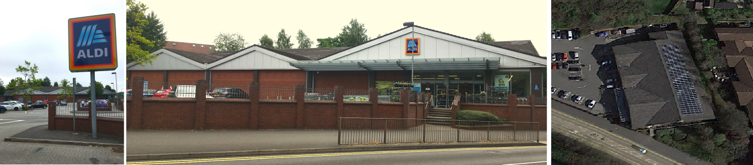 ALDI Energy Assessment in Cannock - EPC