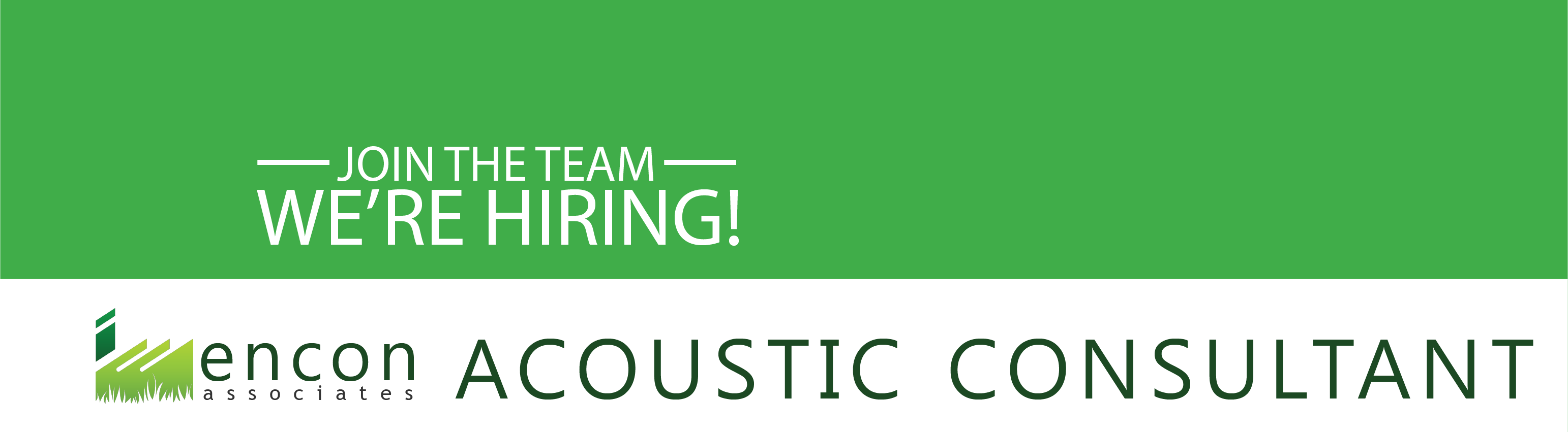 Acoustic Consultant | Job Opportunity | Encon Associates | Nottingham