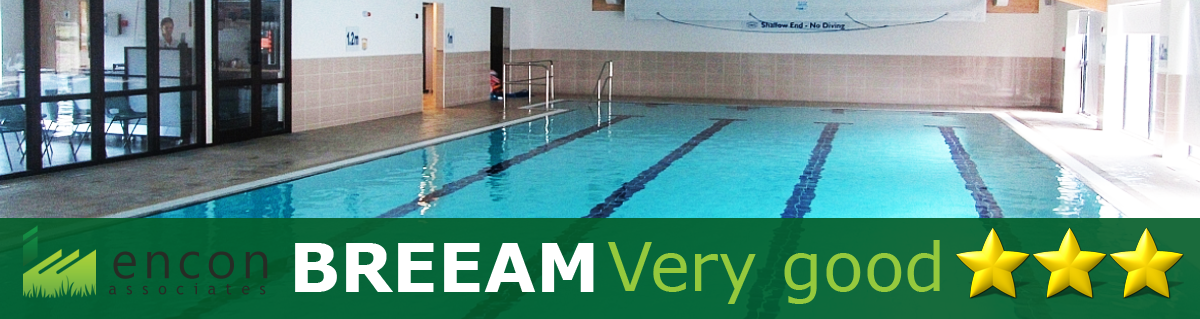 BREEAM Very Good for Frith Manor Swimming Pool