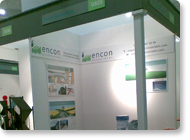 Encon stand taking shape