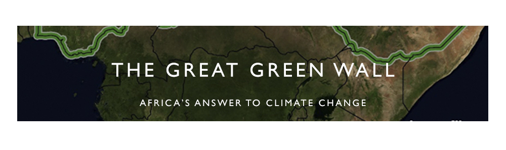 The Great Green Wall Banner