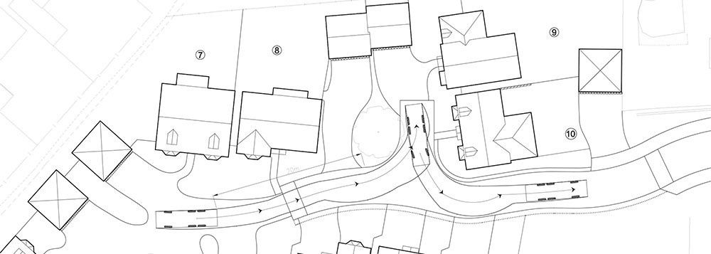 Swept Path Analysis for a Residential Scheme, Leicestershire