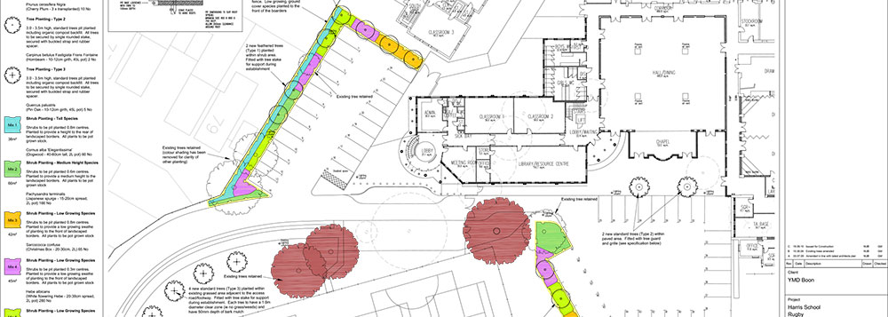 Landscape Design for a Secondary School, Warwickshire