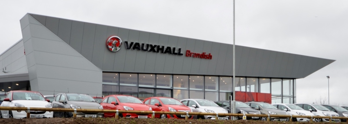 Vauxhall Car Showroom, Vantage Park, Coventry