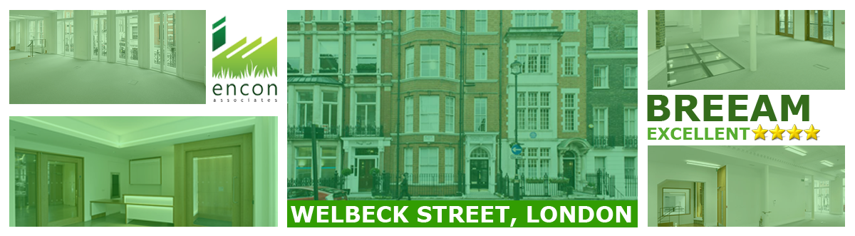 BREEAM Excellent for 50-52 Welbeck Street Development